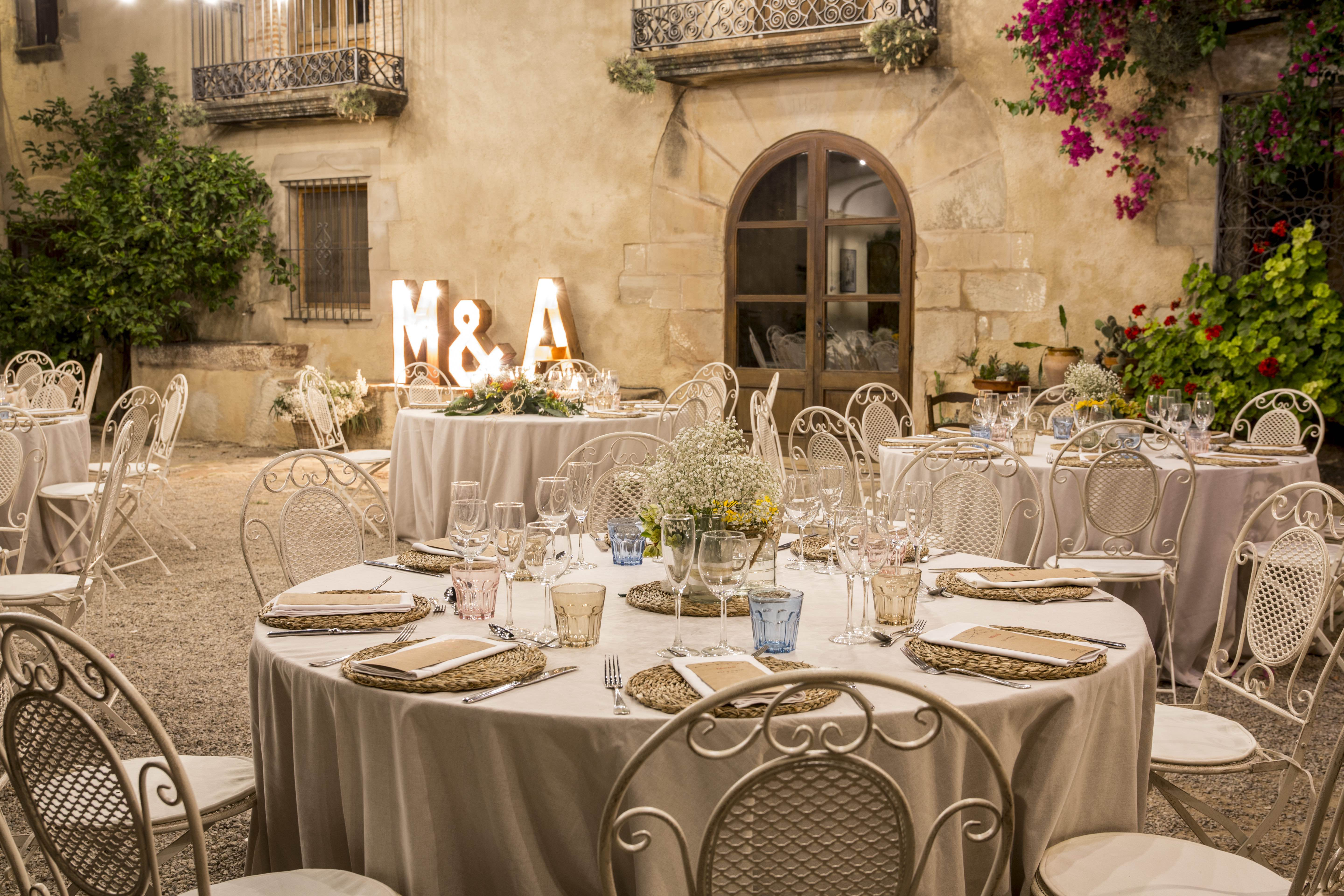 BANQUETE MASIA CAN PLANTADA CATERING BARCELONA